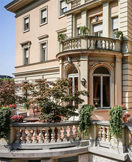 La clinica Fornaca di Sessant a Torino, sede dello Studio Medico Ugo Delfino